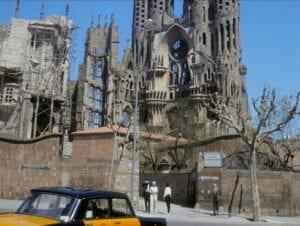 La Sagrada Familia en construction