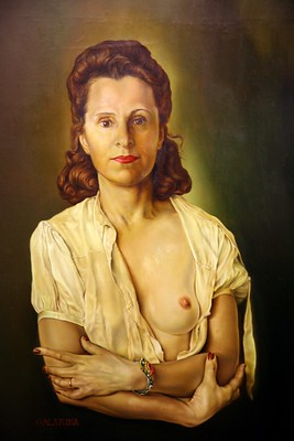 Peinture Galarina Musée Salvador Dali Figueres visite privée