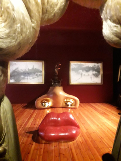 Mae West Hall Musée Dali à Figueres