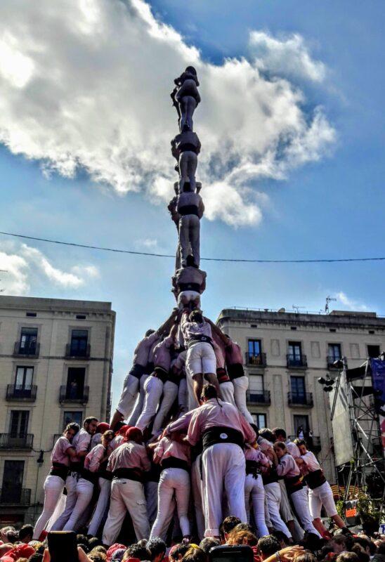 Castellers Festes de la Mercè