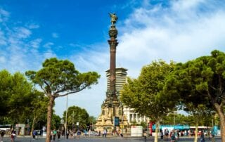 Monumento de Cristobal Colon Barcelona