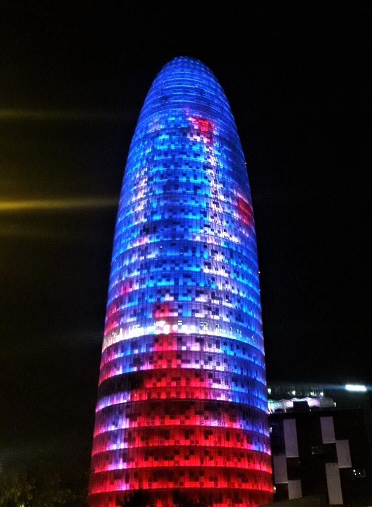 agbar tower 22@ district Barcelona