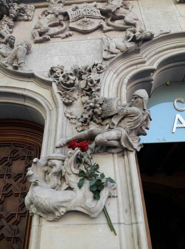 Sant Jordi Barcelona world book day