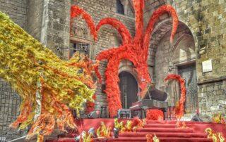 Sant Jordi Barcelona día internacional del libro