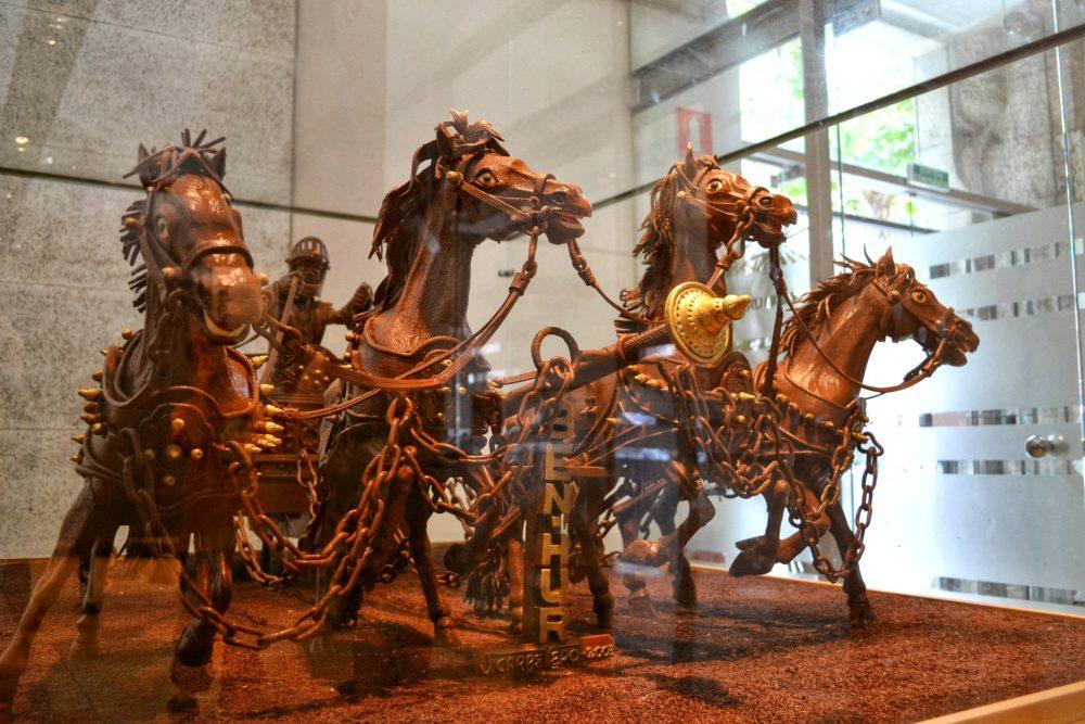 Chocolate museum Barcelona with children