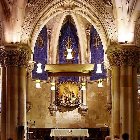 cripta sagrada familia