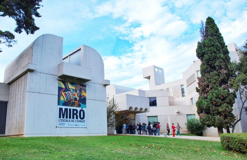 uphill we find art miró museum barcelona