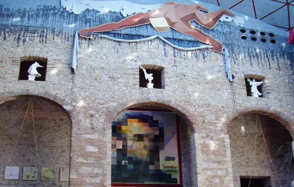 dali's museum in Figueres