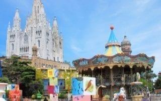 parque atracciones TIbidabo Barcelona