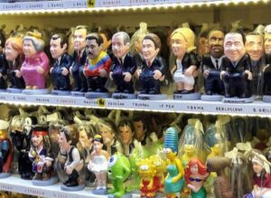 caganers Christmas in Barcelona