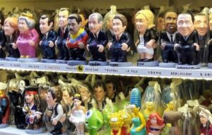 caganers Noël Barcelone