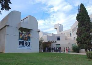 miro's museum & montjuïc hill