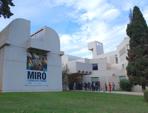 Uphill we find Art (Miró & Mnac)