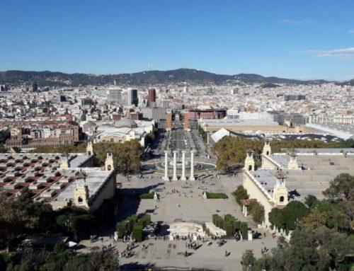 Miro Museum and Montjuïc Hill