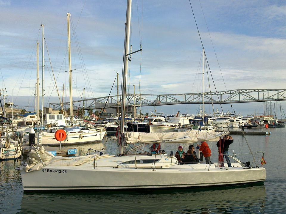 Samba sailing boat